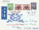 Souvenir Cover of Indian Custodian Force with Korea Overprinted