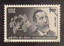 150th Birth Anniversary of Heinrich von Stephan (Founder of UPU)