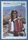 Tribes of India (click for stamp information)