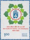 Centenary of Postal Life Insurance (click for stamp information)
