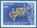 Indo-Soviet Joint Space Flight (click for stamp information)