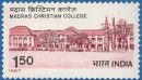 150th Anniversary of Madras Christian College (click for stamp information)