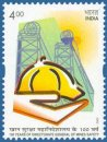 100 Years of Directorate General of Mines Safety, Dhanbad, Bihar (click for stamp information)